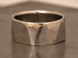9mm Facet Ring