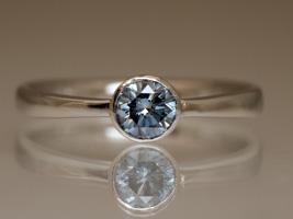 New York Wedding Rings 49 Stunning Blue diamond engagement rings