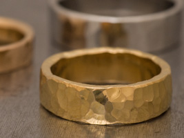 24k gold wedding rings
