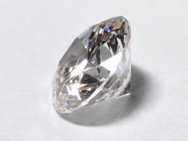 White Man-Made Diamond