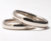 white gold rings