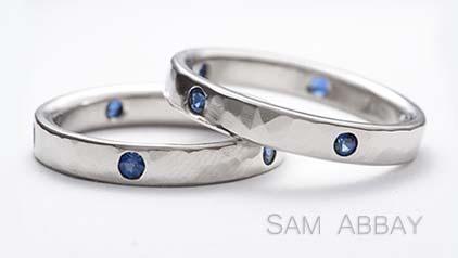 Sapphire Wedding Rings