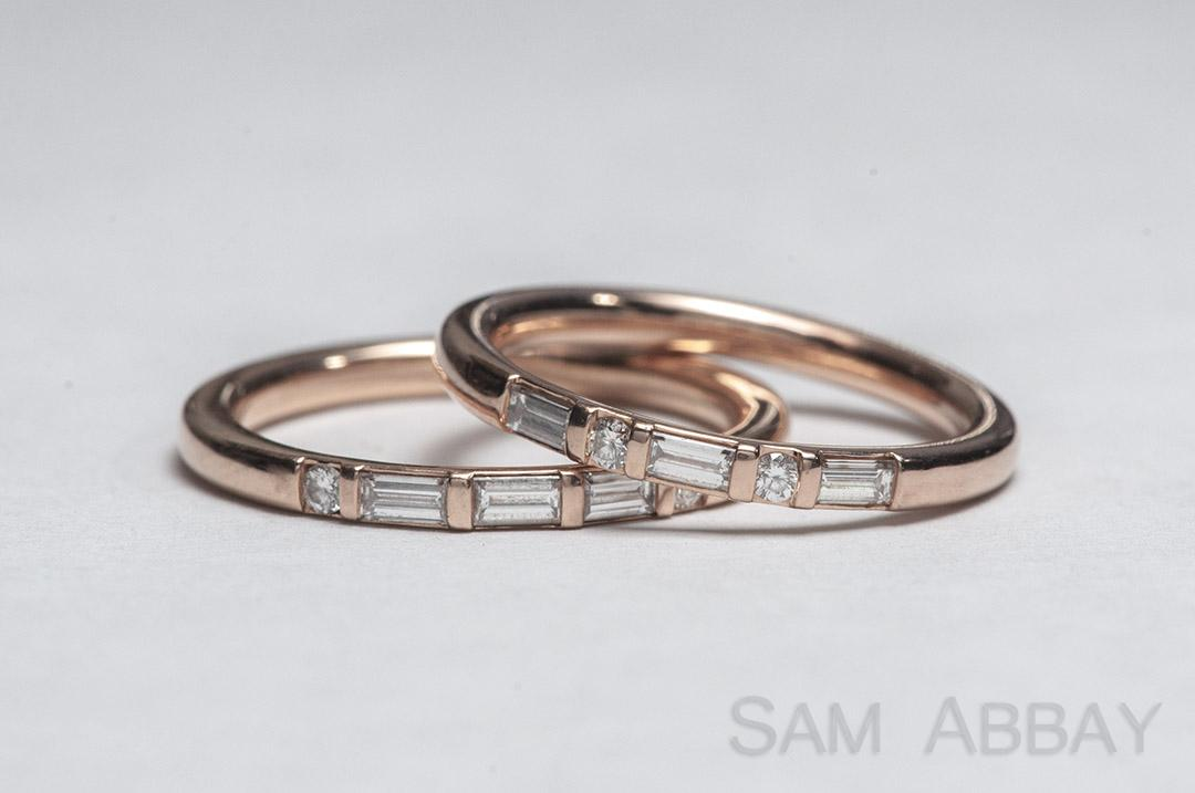 fine for wedding bands jewelry diamond her band blog baguette debebians
