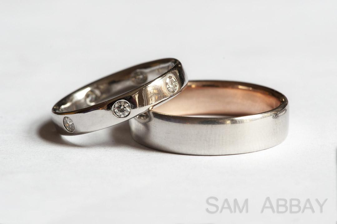 rings with liners - Wedding Ring Photos