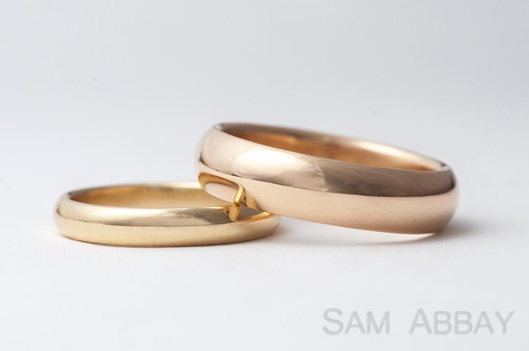 bands gold rings samodz band wedding ring zales