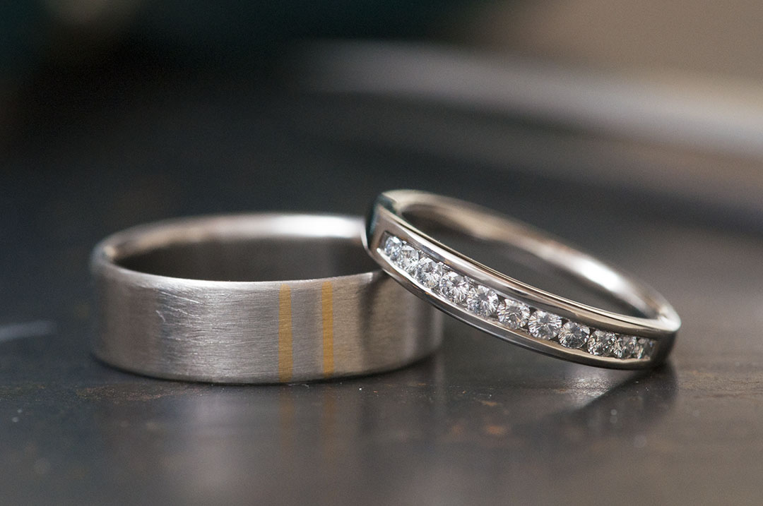 Rings With Inlay