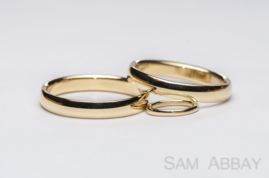 simple bands � new york wedding ring