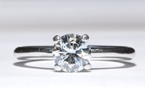 Lab Created Diamonds – New York Wedding Ring