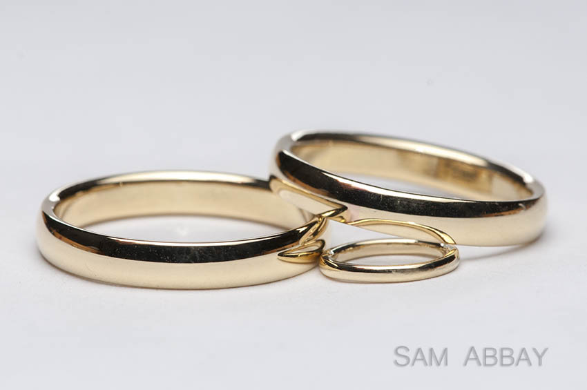 Gold Wedding Rings Baby Ring Sometimes Your Client Shows Up With The Cutest Ever So I Made A Tiny For Because Love Babies